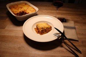 Hirsch-Lasagne