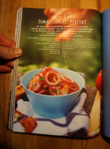 Rezeptbeispiel: Tomatensalat